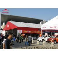 Flame Retardant Clear Marquee Exhibition Tent / Outdoor Trade Show Tents Manufactures