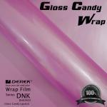 Gloss Candy Lipstick Pink Vinyl Wrap Film - Gloss Lipstick Pink Manufactures