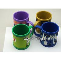 China High quality 350ml kids personalized 16oz plastic coffee advertising 3d animal shaped mug with handle on sale
