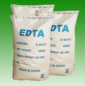 China CAS No. 60-00-4 EDTA Acid, Edetic Acid or Edathamil White Powder EDTA Chelator R36/37/38 on sale