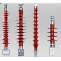 Wall Through / Cylinder Type Railway Insulators / Suspension Composite Insulator Manufactures
