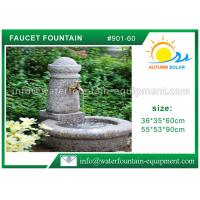 Stone Faucet Cast Stone Garden Fountains Granite Sink For Backyard Lightweight Manufactures