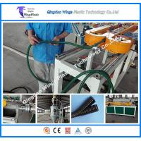 PE PP PVC PA Single Wall Corrugated Pipe Manufacture Machine Manufactures