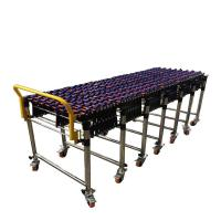 ABS Pulley Flexible Gravity Roller Conveyor Customized Size High Efficiency Manufactures