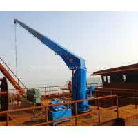 10 ton Marine Telescopic Boom Ship Deck Crane Manufactures