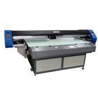 Auto Led Flatbed UV Inkjet Printer 1700mm Two Epson Print Heads Manufactures
