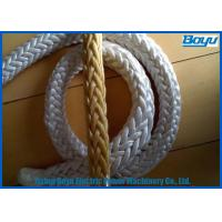 Transmission Line Stringing Tools Accessories Synthetic Fiber Ropes Nylon Ropes High Strength Manufactures
