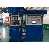 Auto Parts Horizontal Rubber Injection Molding Machine 250 Ton Clamp Force Screw Feeding Manufactures