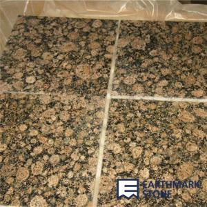 China Baltic Brown Granite Tile on sale