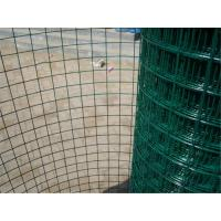 Economic Green PVC Coated Wire Mesh Rolls , Welded Wire Fence For Fencing Manufactures