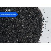 China Sandblasting Brown Aluminium Oxide Blasting Media Abrasive Blasting Media Grit Size 36# on sale