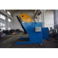 Q235 360 Degree Weld Positioners With 1000mm Table And Chuck , Speed Adjust By Inverter Manufactures