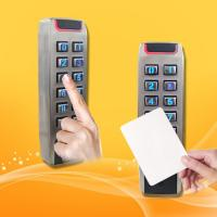 China Portable RFID Proximity Card Reader With Keypad High Security Level on sale
