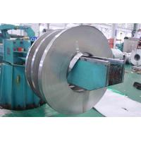 201 / 410 BA Stainless Cold Rolled Steel Strip With Slit Edge , PVC Coated Manufactures