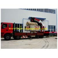 8x4 25 tons Truck Mounted Crane 18.8 m 25 t Payload for Senegal Manufactures