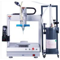 China Desktop Silicone Dispensing Machine PLC Control  For Small PCB Electronics on sale