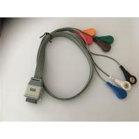 Edan SE2003/ SE2012 Lead Shielded Cable , Bi9800/9000 Ecg Leads Holter Cable Manufactures