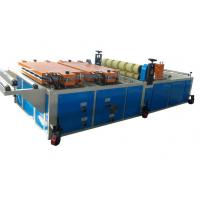 Round / Trapezoidal Roof Sheet Making Machine / Plastic Extrusion Machine for Eco friendly Wave Tiles
