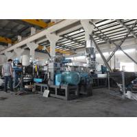 China Two Stage Water Ring waste plastic recycling machine with Stainless steel material , durable on sale