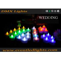 Wedding Decoration Rechargeable Led Candles , Wax Electronic Candles Manufactures