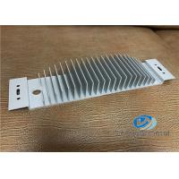 Aluminum Extruded Shapes / Heatsink Profile With Precise Cutting Manufactures