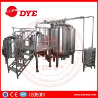 Energy Efficient Beer Making Machine Home Brew Equipment PLC Or Touch Screen Manufactures