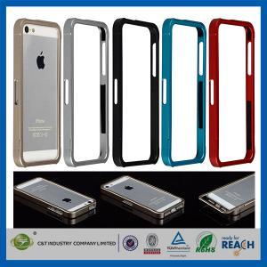 Aluminum Metal Slide-On Frame Bumper Apple Cell Phone Cases Cover For Iphone 5