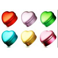 Sweet Heart Gift Tin Box With Diamond For Chocolate/Candy/Tea Manufactures