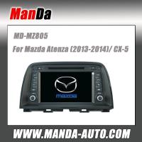 China double din dvd car audio for Mazda Atenza (2013-2014) dvd media player satellite gps radio bluetooth dvd car monitor on sale