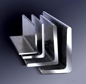 China Galvanized Steel Angle , Aluminum Angle Bar Low Carbon Hardened Steel on sale