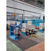Doubling Wire Twisting Machine , Active Copper Wire Bunching Machine Manufactures