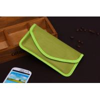 Double cloth mobile phone signal shielding bag for samsung galaxy note3 Manufactures