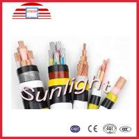XLPE Insulated Low Voltage Power Cable CAB Power 0.6 / 1KV Without Armour Manufactures