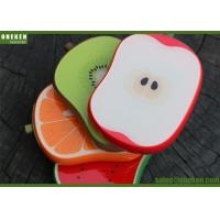 Sweet Apple Shaped 4000mAh Fruit Power Bank For Mobile Phones / MP3 Players Manufactures