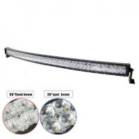"""54"""" 300W Double-row Curved 6000K Spot/ Flood/ Combo Car Lightbar for Off-road Truck ATV Vehicle Manufactures"""