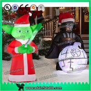 Christmas Decoration Inflatable Cartoon Customized Star War Cartoon Inflatable Manufactures