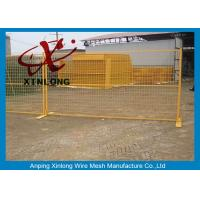 China Free Standing Temporary Fencing Panels For Building Site Simple Design for sale