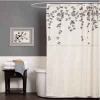 China Unique Polyester Window Shower Curtain OEM / ODM , Waterproof And Printed on sale