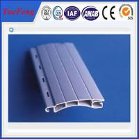 European designed Aluminum extrusion profile slat for Roller/Rolling shutter doors Manufactures