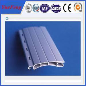 Quality European designed Aluminum extrusion profile slat for Roller/Rolling shutter for sale