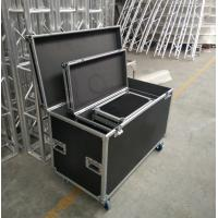 Black Lowest Cubic Meter Of 3 In 1 Flight Aluminum Tool Cases Easy To Moving Manufactures