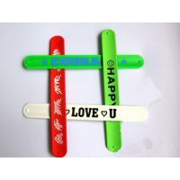 Silicon slap wristbands Manufactures