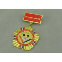 Zinc Alloy Military Custom Awards Medals 3D Die Casting With Soft Enamel Manufactures