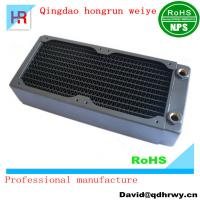 Classical design  triple rows CPU copper water cooling radiator Manufactures