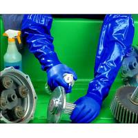 PVC gloves with long sleeve cuff  for fisher Manufactures