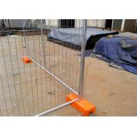 Q235 Steel Materials Temporary Security Fence Panels Crowd Control Barriers Manufactures