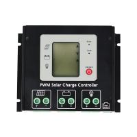 12V / 24V PWM Solar Charge Controller , Solar System Charge Controller Dual Period Design Manufactures