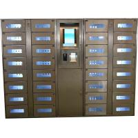 Stainless Steel Vending Locker With LED Lights And Transparent Doors Remote Control Function Manufactures