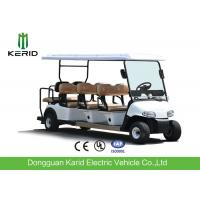 Wholesale Price 8 Persons Electric Golf Carts Street Legal With Deep Cup Holders Manufactures