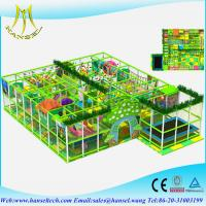 Hanselkids plastic playground cardboard interior indoor soft play equipment Manufactures